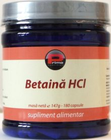 betaina hcl-tratament reflux gastric