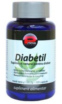 supliment alimentar pentru diabet
