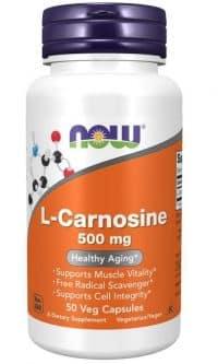 l-carnozina NOW 500 50
